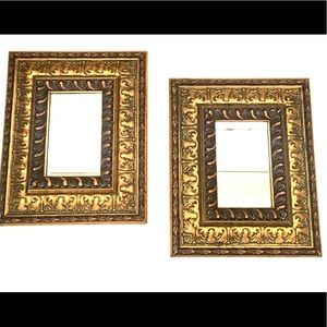 Set of Two Small Mirrors Gallery Wall